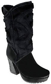 Earth Earthies Toulenne Suede Leather Platform Boots