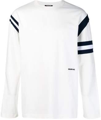 Calvin Klein contrast stripe sweatshirt