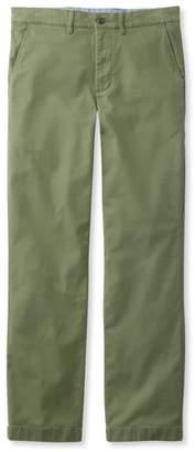 L.L. Bean L.L.Bean Men's Lakewashed Stretch Khakis, Standard Fit