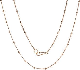 Annoushka Saturn 18ct rose gold chain, gold