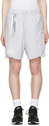 Adidas x Kolor Grey Track Shorts $175 thestylecure.com