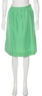 Courreges Slightly Flared Skirt