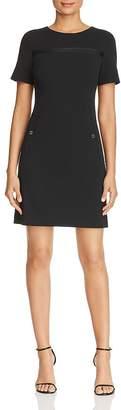 Calvin Klein Faux-Pocket Shift Dress