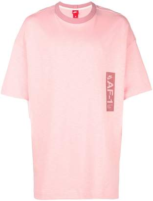 Nike logo printed short sleeve T-shirt