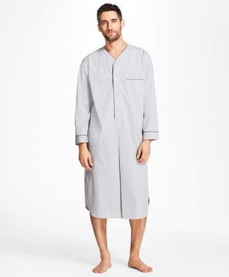 Brooks Brothers Plaid Nightshirt