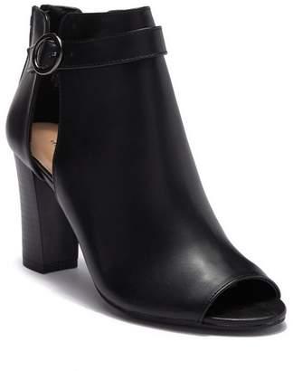 Madden-Girl Berkk Faux Leather Ankle Bootie