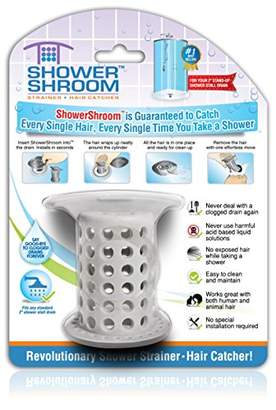 "Ställ ShowerShroom the Revolutionary 2"" Stand-Up Shower Drain Protector Hair Catcher/Strainer"