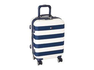 Tommy Hilfiger Rugby Stripe 21 Upright Suitcase Luggage
