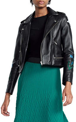 Maje Dream Tomorrow Leather Jacket
