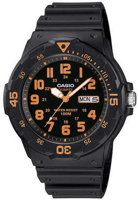 Casio Mens Black Strap Watch-Mrw200h-4bos