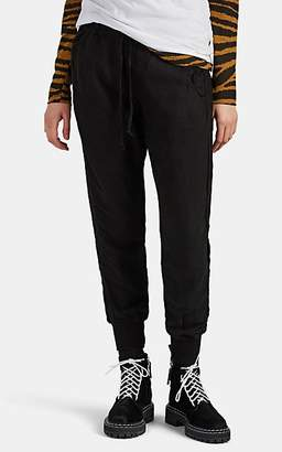 NSF Women's Neko Canvas Jogger Pants - Black