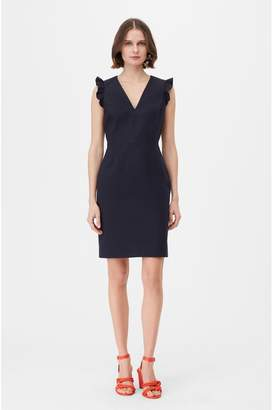 Rebecca Taylor Tailored Stretch Modern Suiting Dress