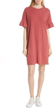 The Great Ruffle Sleeve T-Shirt Dress