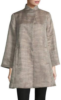 Eileen Fisher Funnel Neck Jacket