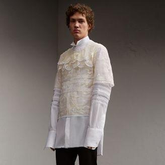 Burberry Tiered Soutache Lace T-shirt $3,695 thestylecure.com
