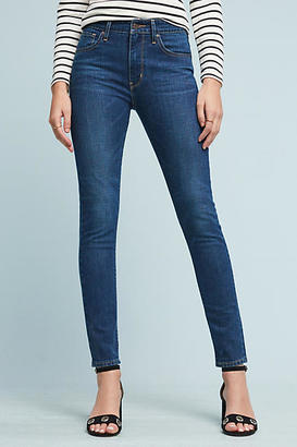 Levi's 721 High-Rise Skinny Jeans $148 thestylecure.com
