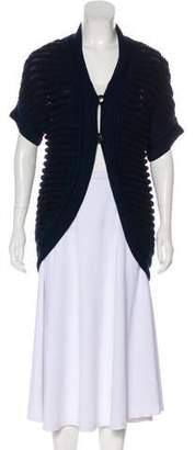 Fendi Cashmere & Wool Knit Cardigan