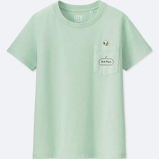 Uniqlo Women's Peanuts Short-sleeve Graphic T-Shirt