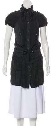 Juicy Couture Silk Sleeveless Mini Dress