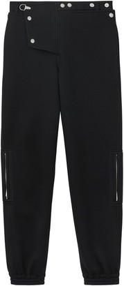 Burberry Press-stud Detail Neoprene Trousers