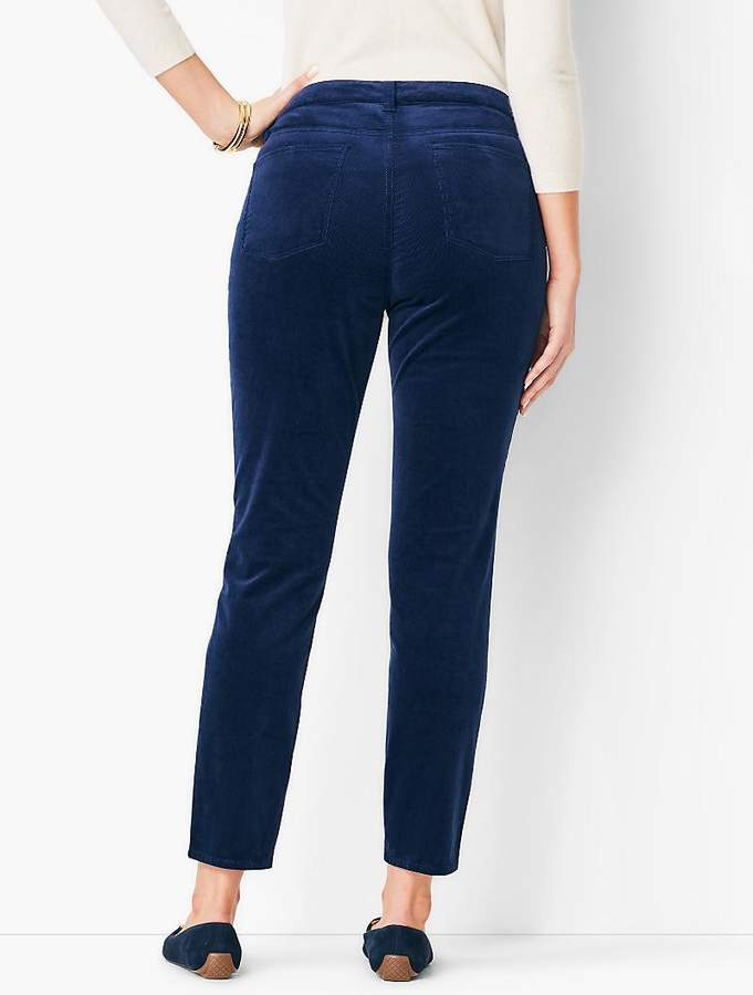 Slim Ankle Pant - Curvy Fit/Cord