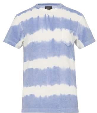 Howlin' - Fons Cotton Blend Terry T Shirt - Mens - Purple