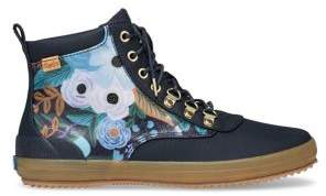 Keds Rifle Paper Co X Scout Floral Booties