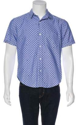 Band Of Outsiders Printed Button-Up Shirt