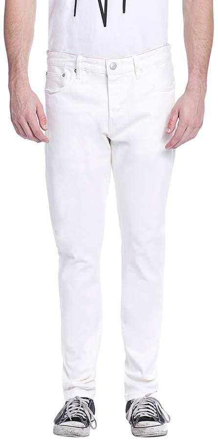Earnest Sewn Men's Bryan Cotton Slouchy Slim Jeans