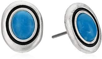 The Sak Women's Stone Stud Earrings