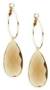 Panacea Quartz Teardrop Earrings
