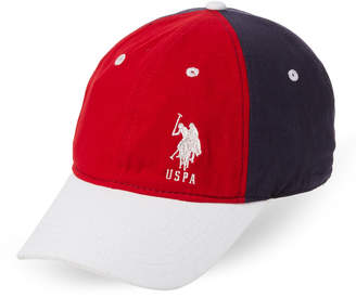 U.S. Polo Assn. Color Block Logo Baseball Cap