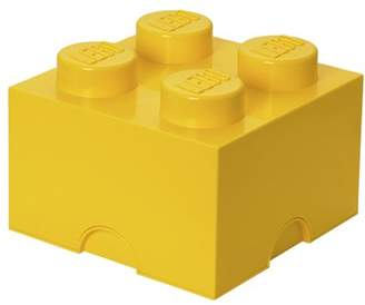 Lego Storage Brick 4, Bright Yellow