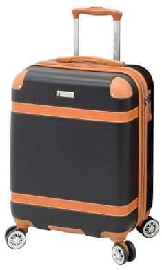 "London Fog Vintage 19"" Expandable Hardside Spinner Suitcase"