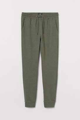 H&M Slim Fit Sweatpants - Green