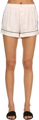 Arie Satin Pajama Shorts