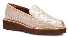 Aquatalia Kelsey Mini Emboss Creeper Loafers