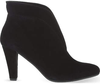 Carvela Comfort Ladies Black Casual Rida Suede Ankle Boots