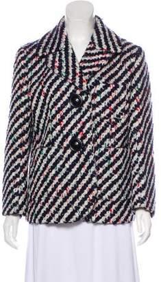 Miu Miu Virgin Wool Tweed Coat w/ Tags