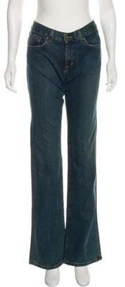 Ralph Lauren Mid-Rise Wide-Leg Jeans w/ Tags
