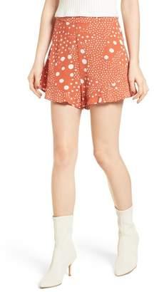 The Fifth Label Peppers Polka Dot Ruffle Hem Shorts