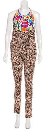Mara Hoffman Animal Print Jumpsuit w/ Tags