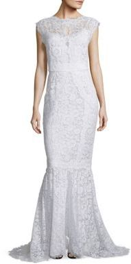 Dolce & Gabbana Open-Back Lace Gown $11,000 thestylecure.com