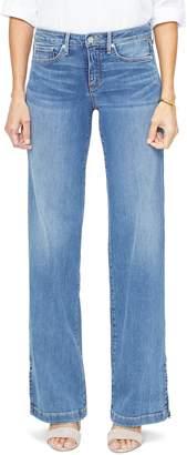 NYDJ Wide Leg Trouser Jeans