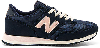 New Balance 620 Sneaker in Navy $91 thestylecure.com
