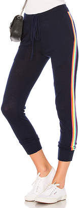 Sundry Rainbow Stripe Cozy Sweatpants