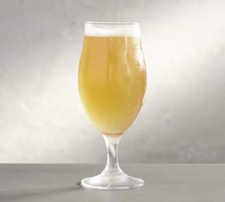 Pottery Barn Tulip Beer Glass