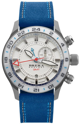 Brera Unisex Eterno GMT Watch $795 thestylecure.com