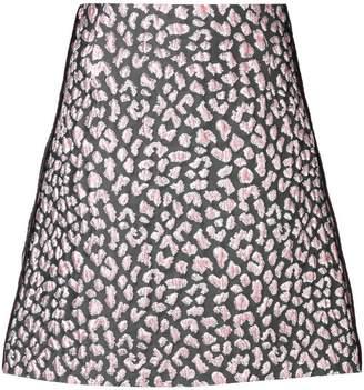 Schumacher Dorothee Decadent Leopard Mini Skirt