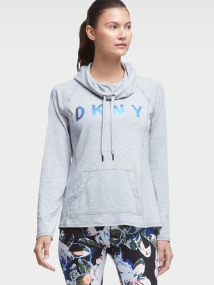 DKNY Logo Pocket Hoodie